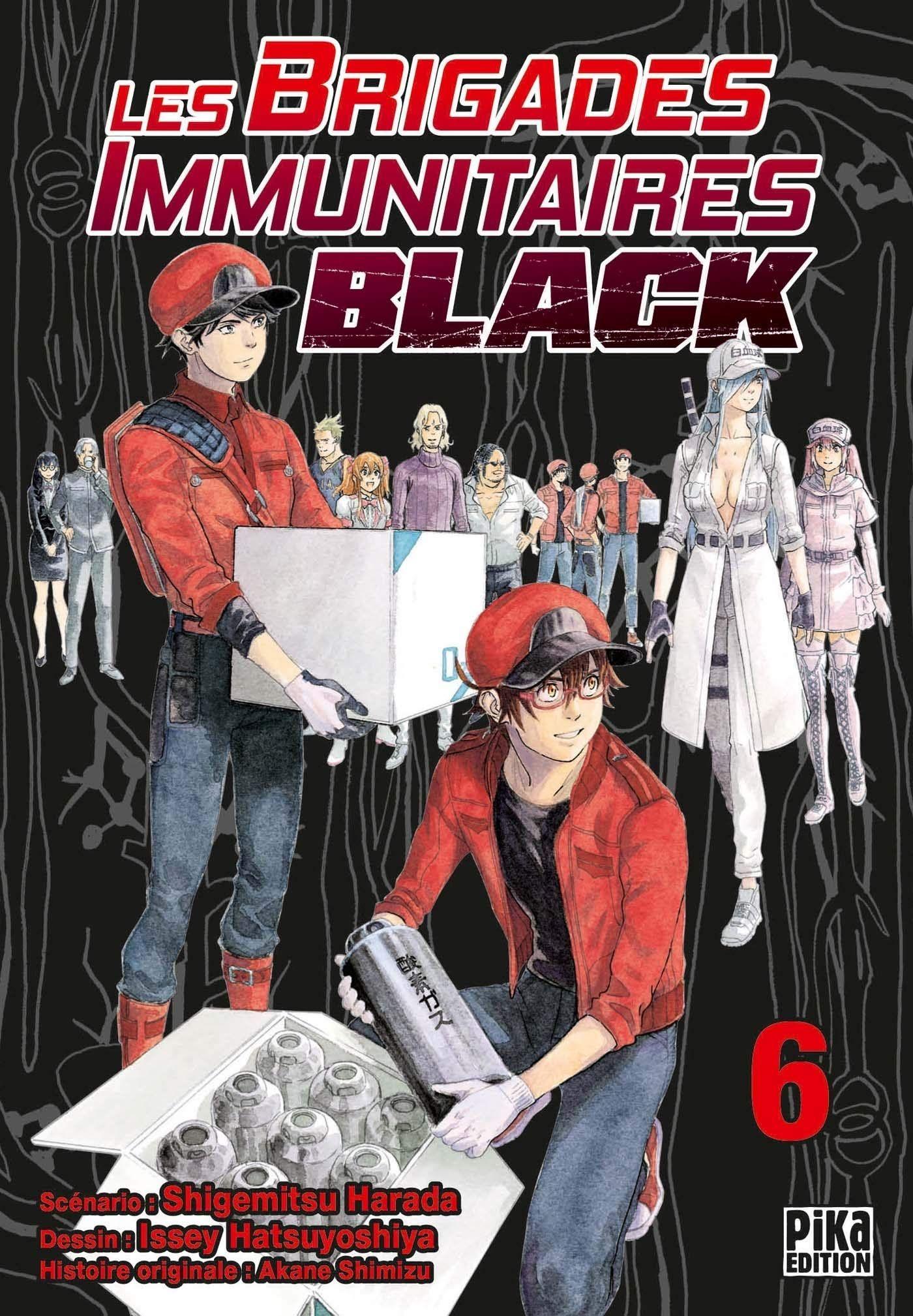 Sortie Manga au Québec JUIN 2021 Brigadess-immunitaires-black-6-pika