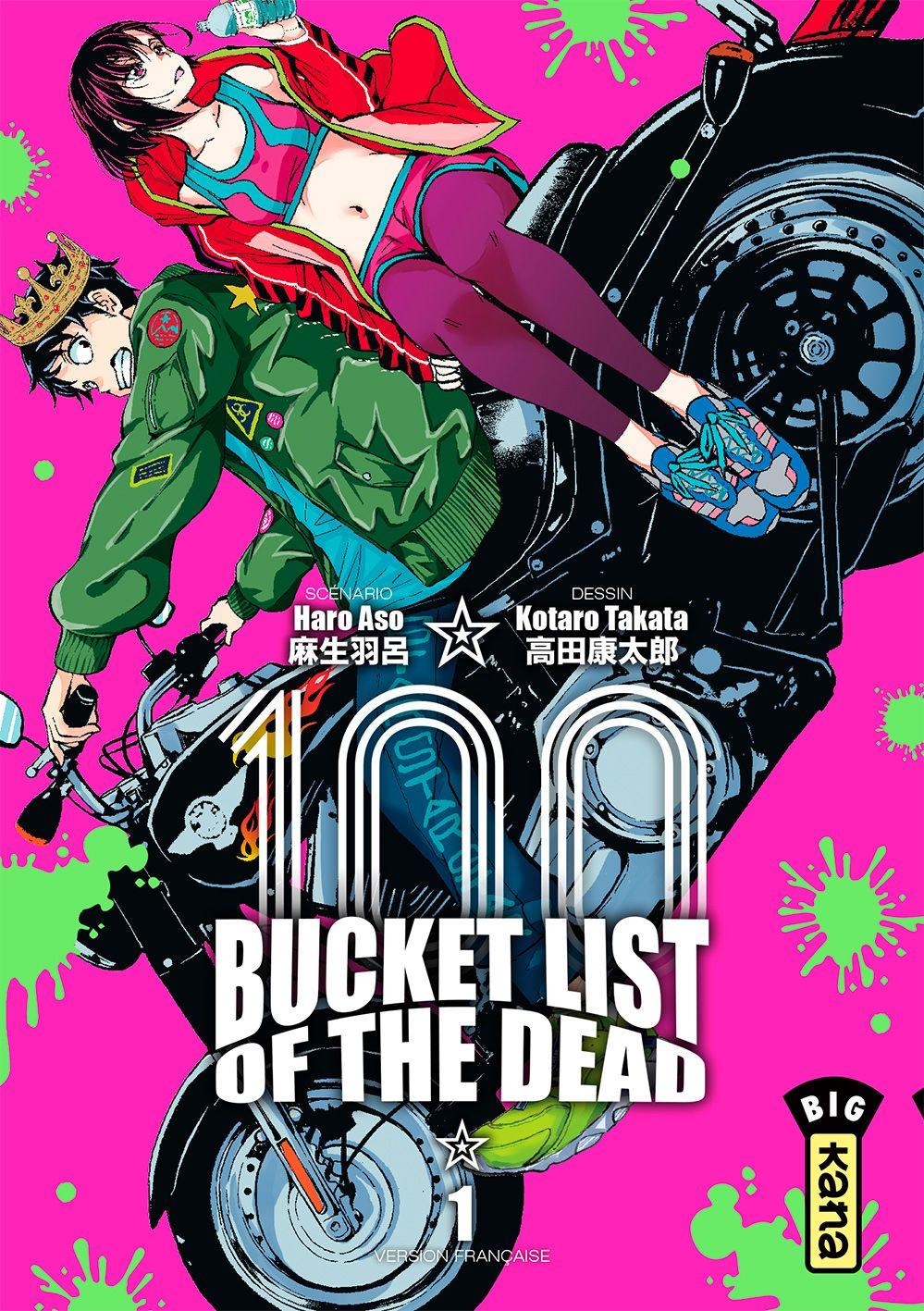Sortie Manga au Québec JUIN 2021 Bucket-list-of-the-dead-1-kana