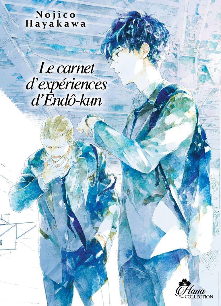 Manga - yaoi - Carnet d'expériences d'Endô-kun (le) Vol.1