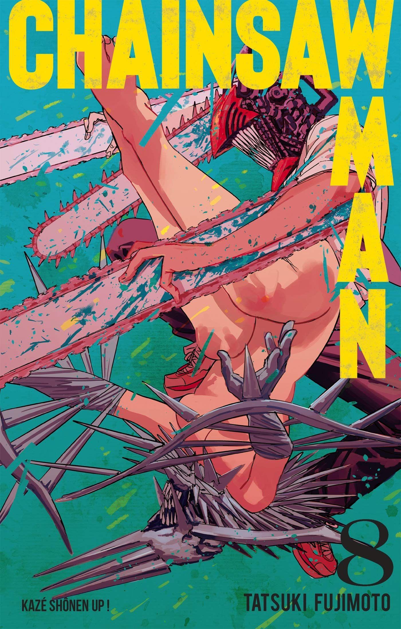 Sortie Manga au Québec JUIN 2021 Chainsaw_8_Kaze