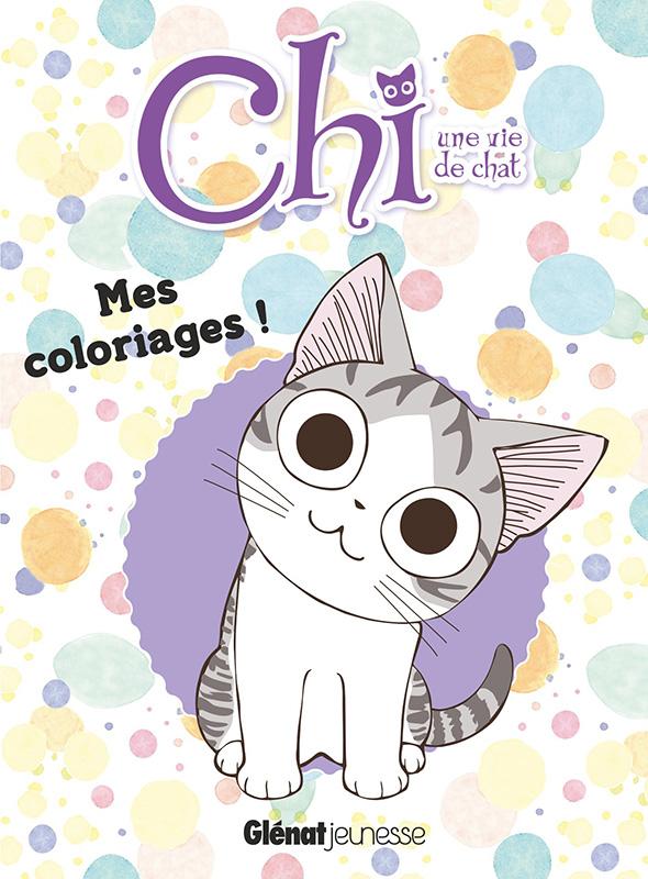 Chi une vie de chat mes coloriages manga manga news - Mes coloriages a imprimer ...