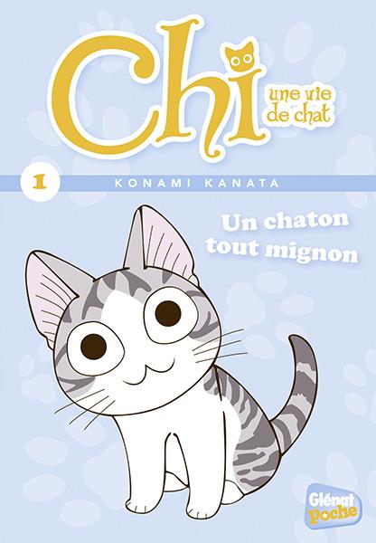 Vol 1 chi une vie de chat poche un chaton tout mignon manga manga news - Chat tout mignon ...