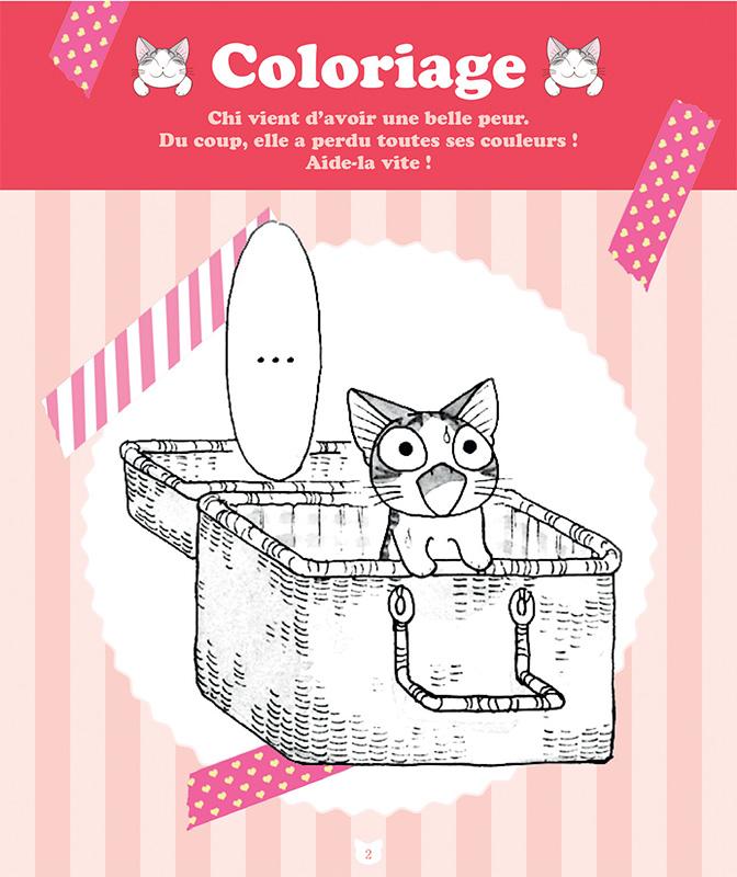 Des cahiers d 39 activit s pour chi une vie de chat 12 mai - Dessin de chi ...