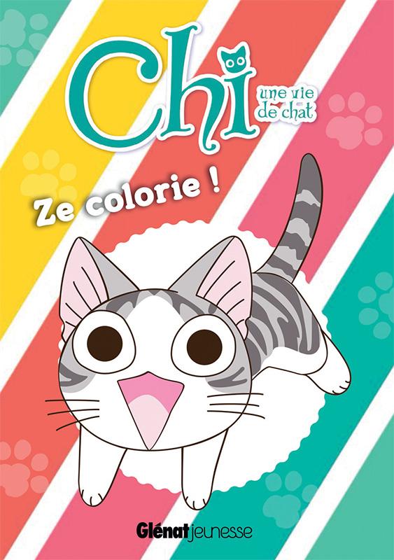 Chi Une Vie De Chat Ze Colorie Manga Manga News
