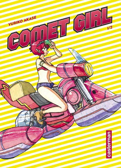 Sortie Manga au Québec JUILLET 2021 Comet-girl-1