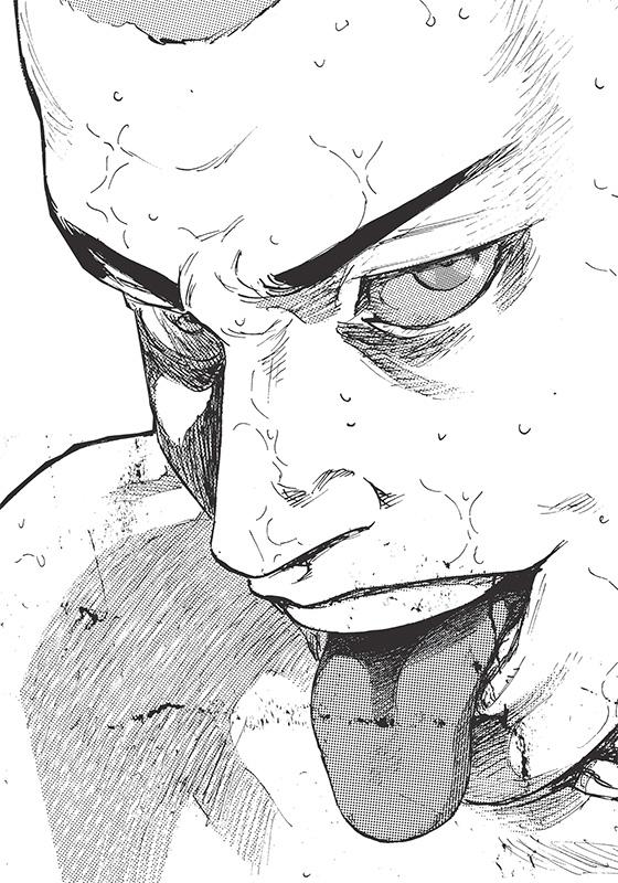 dessin manga combat