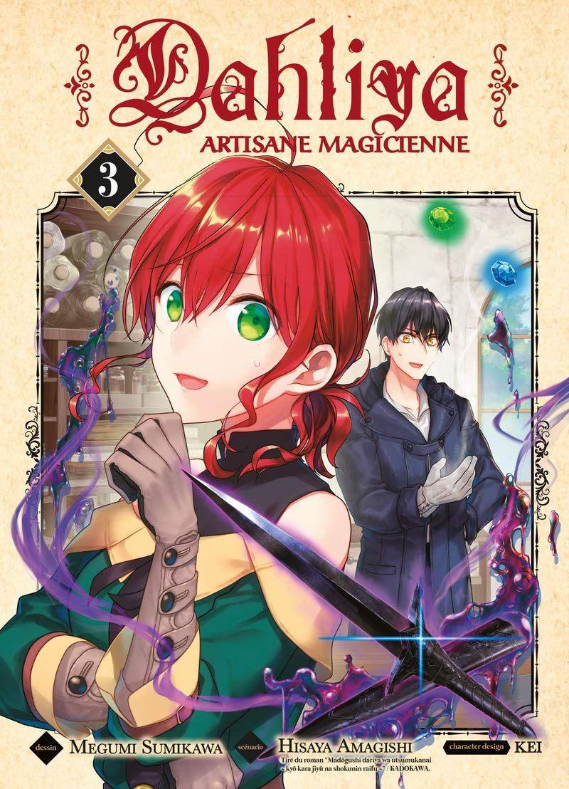 Sortie Manga au Québec JUIN 2021 Dalhya-artisane-magicien-3-komikku