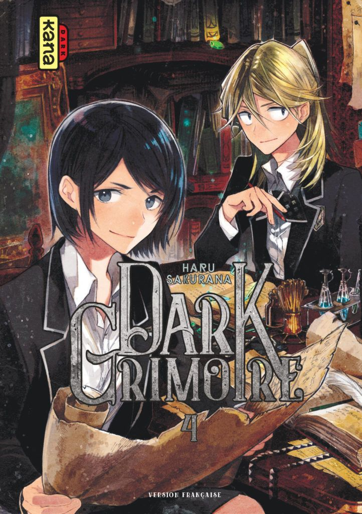 Manga - Manhwa - Dark Grimoire Vol.4