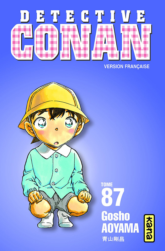 Tome 87 (France) Detective-conan-87-kana