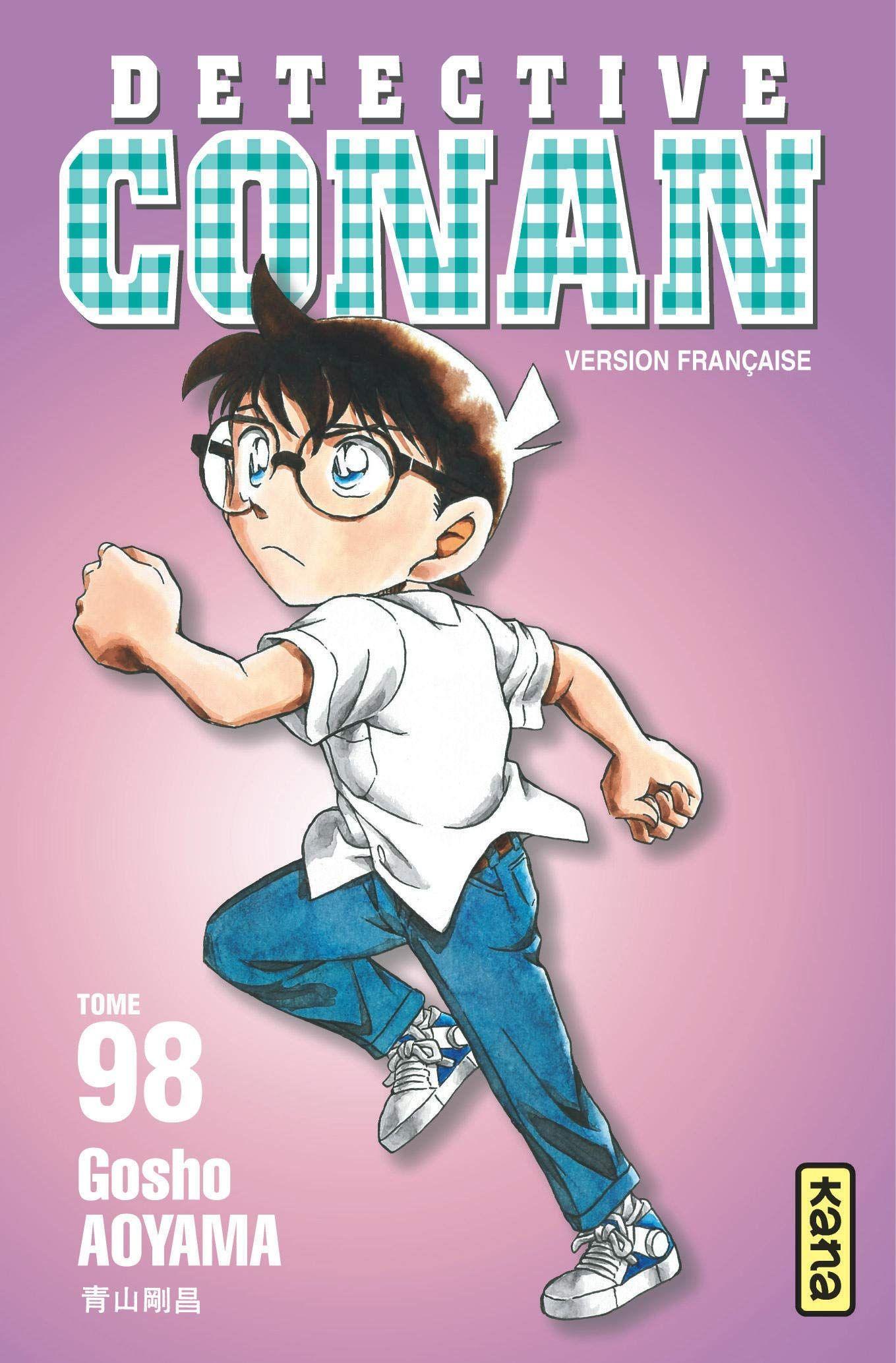 Sortie Manga au Québec JUIN 2021 Detective-conan-98-kana