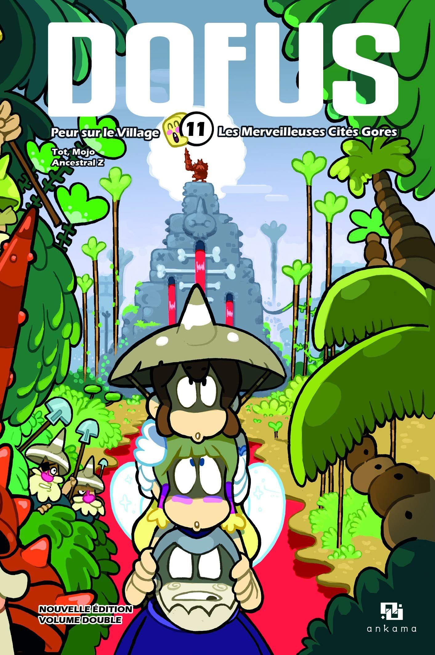 Sortie Manga au Québec JUIN 2021 Dofus-double-11-ankama