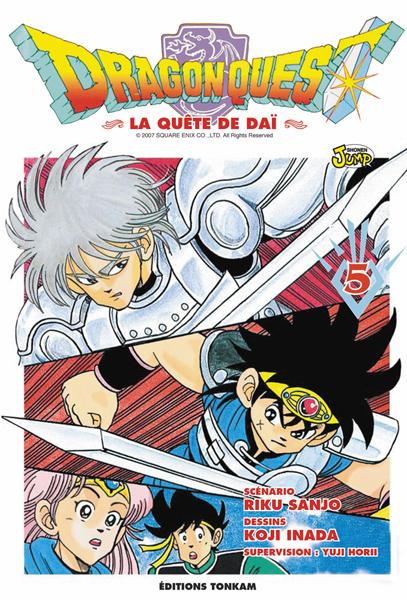 Dragon quest - La quête de Dai Vol.5