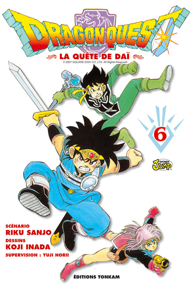 Dragon quest - La quête de Dai Vol.6