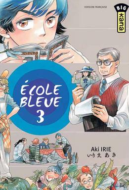 vol 3 ecole bleue l 39 manga manga news. Black Bedroom Furniture Sets. Home Design Ideas