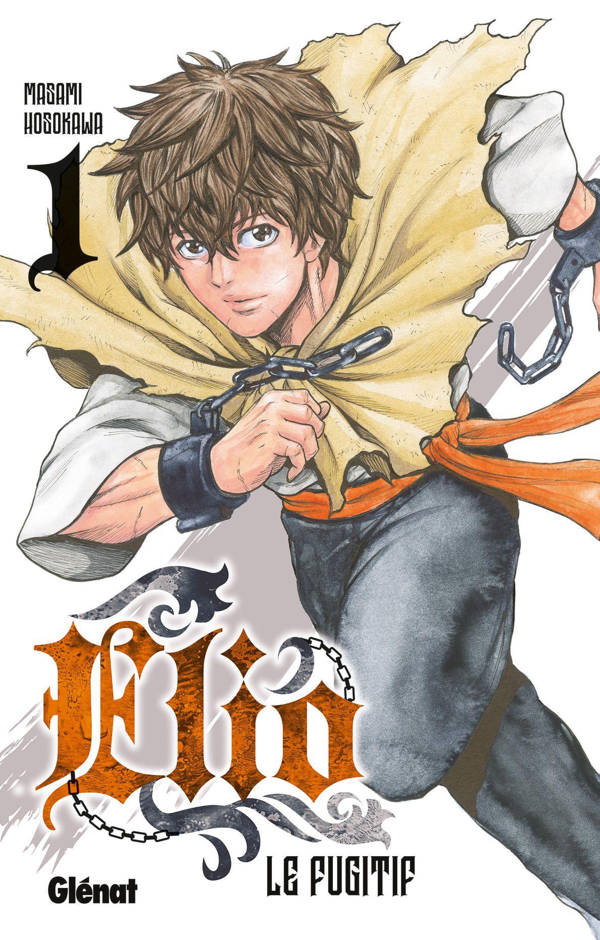 Sortie Manga au Québec JUILLET 2021 Elio-le-fugitif-1-glenat