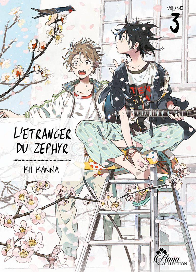 Manga - yaoi - Etranger du Zéphyr (l') Vol.3