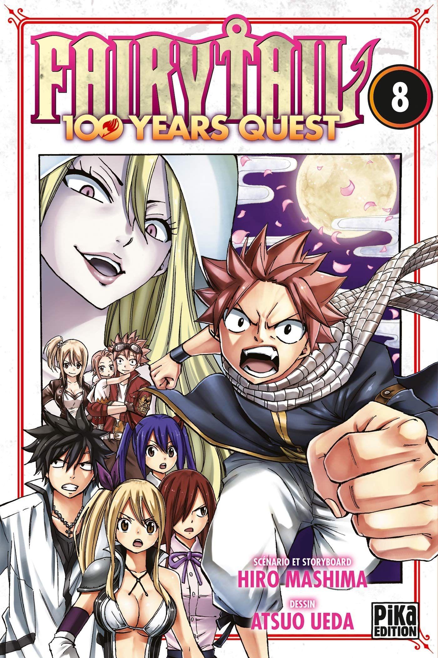 Sortie Manga au Québec JUIN 2021 Fairy-tail-100-year-8-pika
