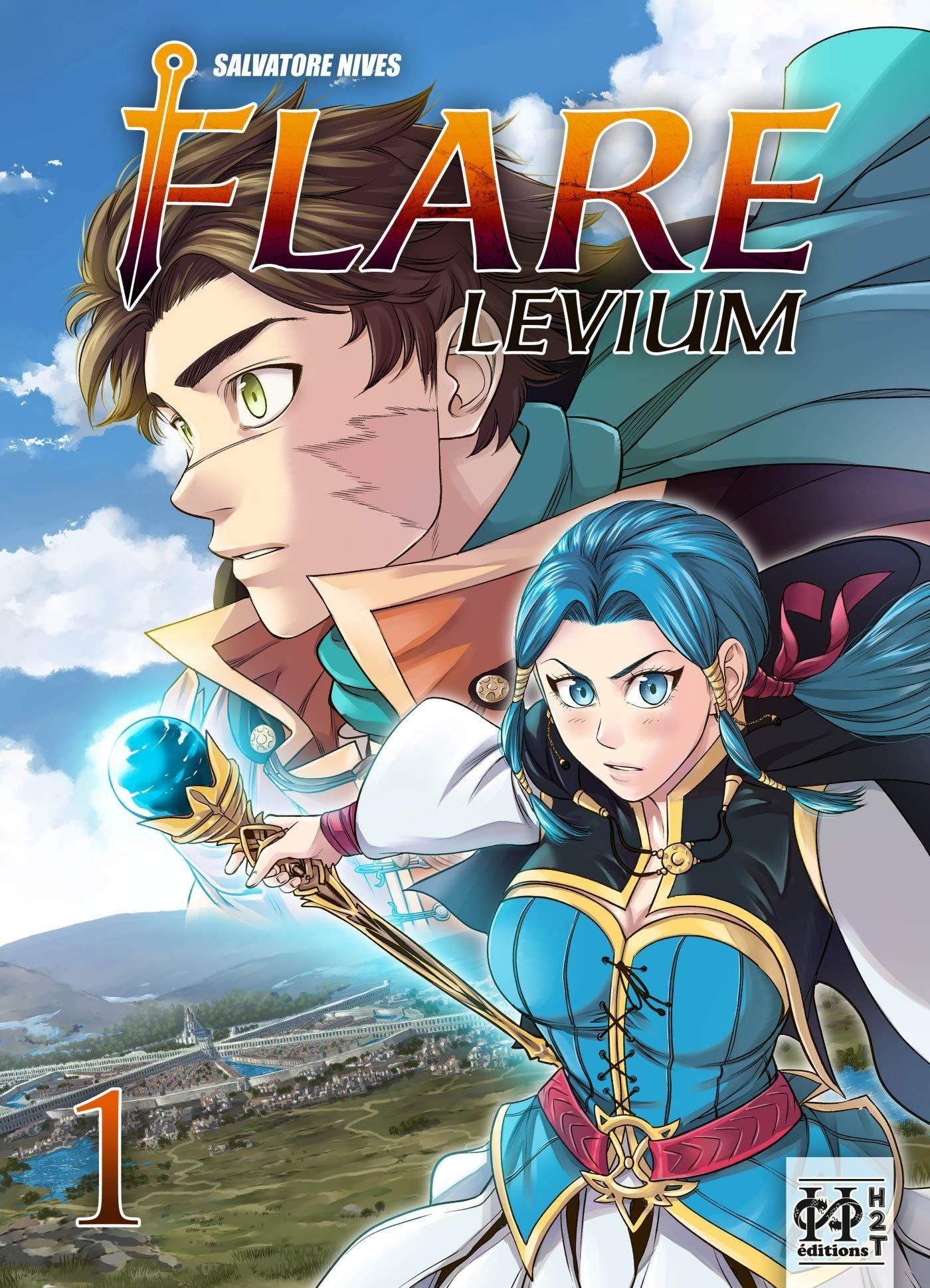 Sortie Manga au Québec MAI 2021 Flare-levium-1-h2t