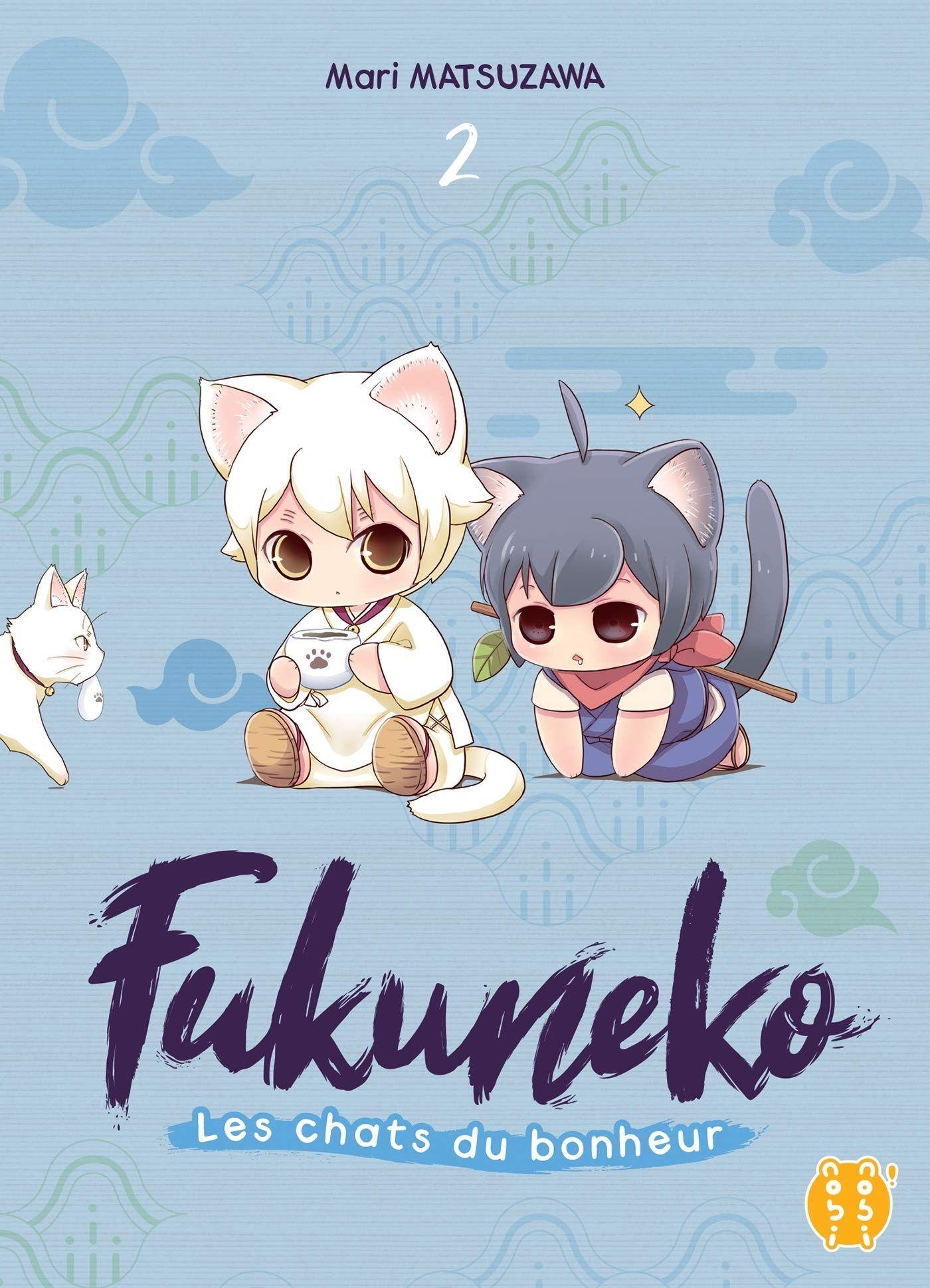 Manga - Manhwa - Fukuneko - Les chats du bonheur Vol.2