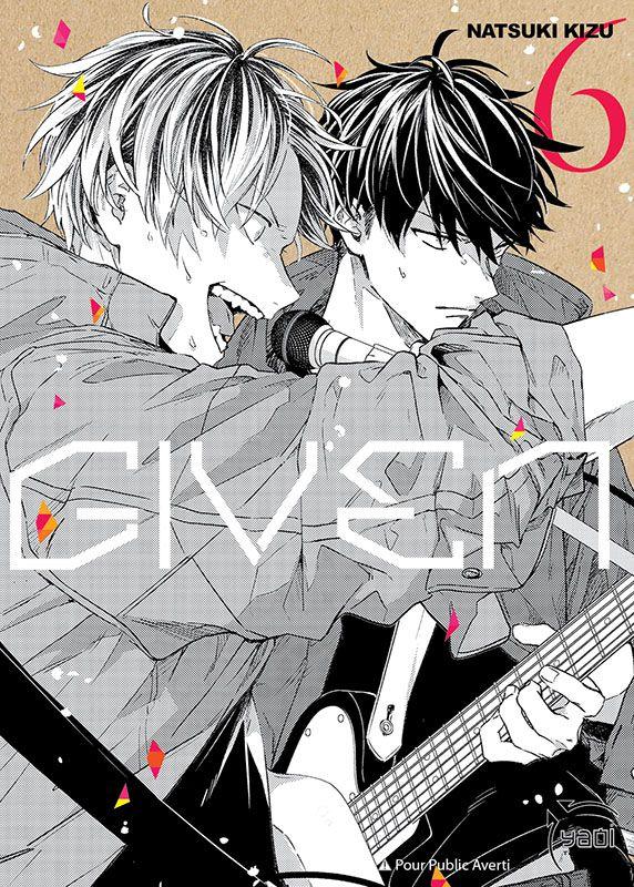 Sortie Manga au Québec JUILLET 2021 Given-6-taifu