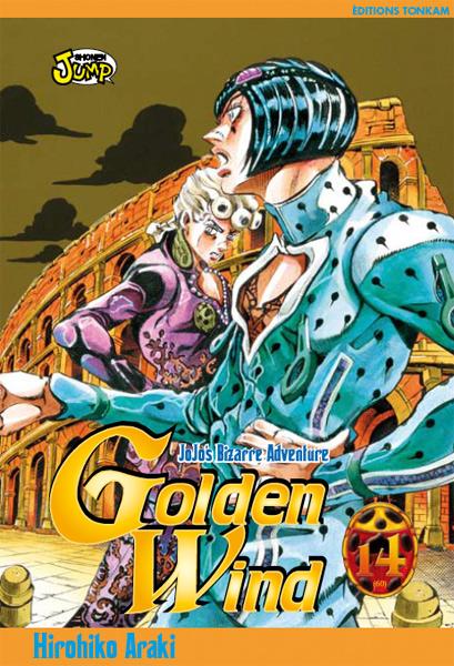 Jojo's bizarre adventure - Golden Wind Vol.14