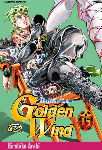 Jojo's bizarre adventure - Golden Wind Vol.15