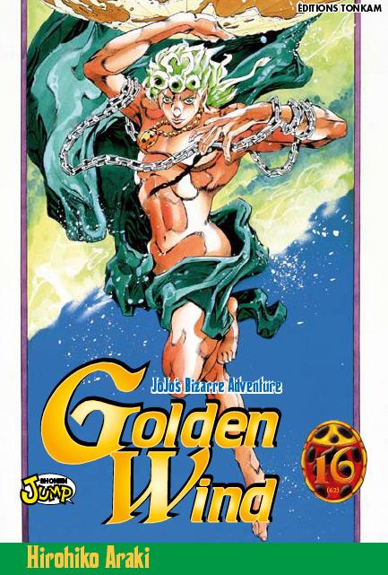 Jojo's bizarre adventure - Golden Wind Vol.16