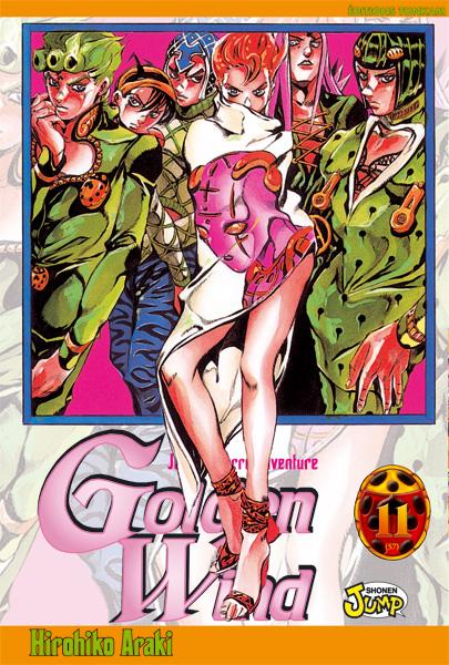 Jojo's bizarre adventure - Golden Wind Vol.11