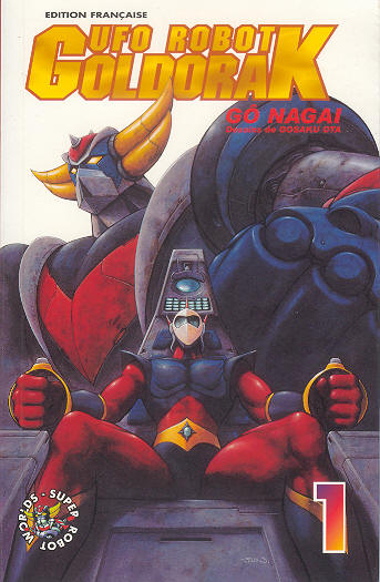 manga goldorak