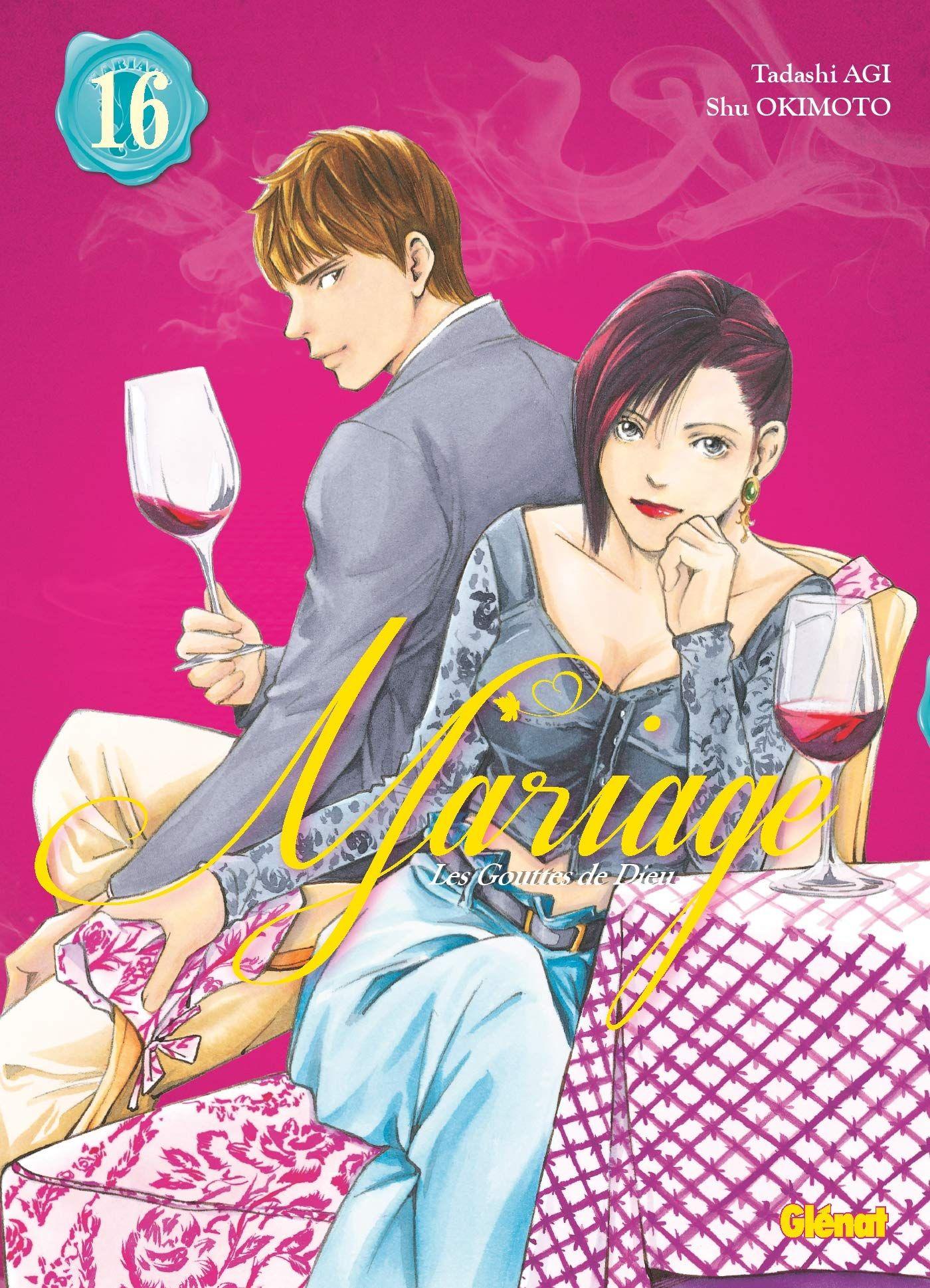 Sortie Manga au Québec JUIN 2021 Gouttes-de-dieu-mariage-16-glenat