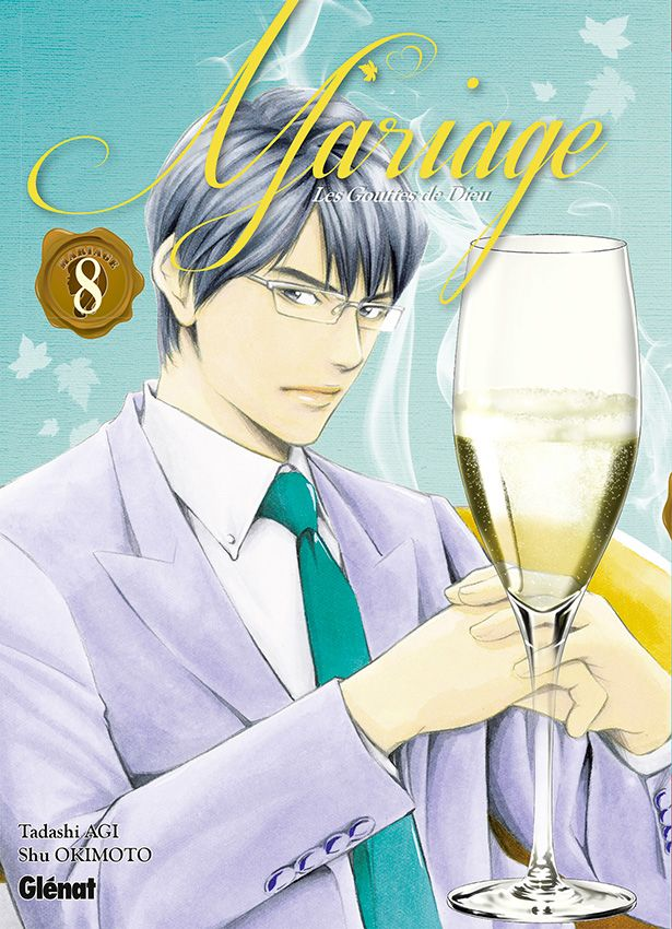 Vol 8 Gouttes De Dieu Les Mariage Manga Manga News border=