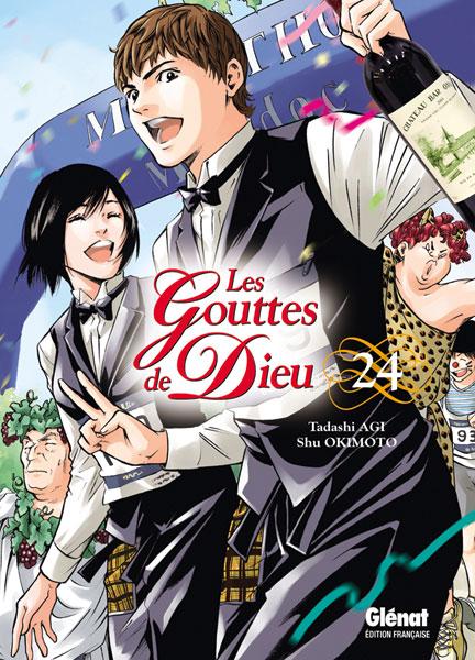 Couvertures Manga Gouttes De Dieu Les Vol 24 Manga News border=