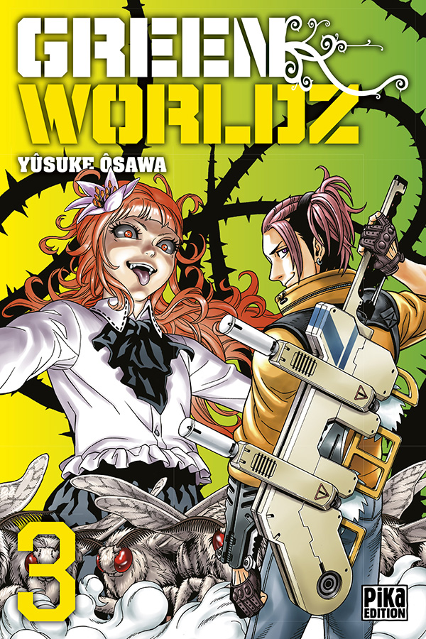 Vol.3 Green Worldz - Manga - Manga news