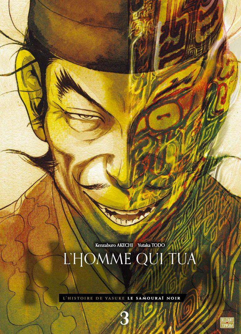 Sortie Manga au Québec JUIN 2021 Homme-qui-tua-nobunaga-3-delcourt