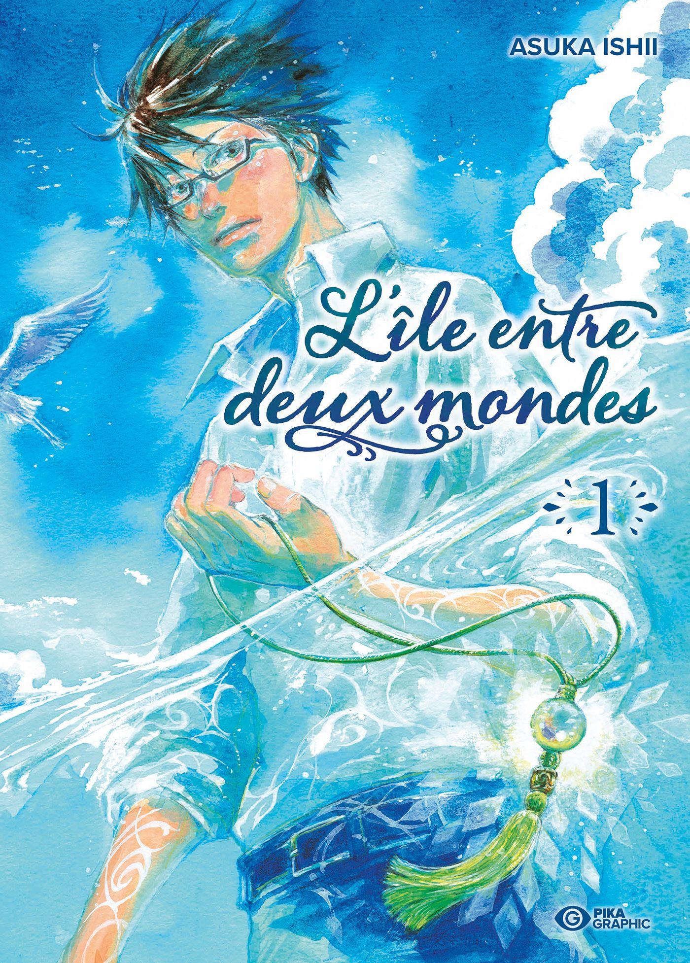 Sortie Manga au Québec JUIN 2021 Iles-entre-deux-mondes-1-pika