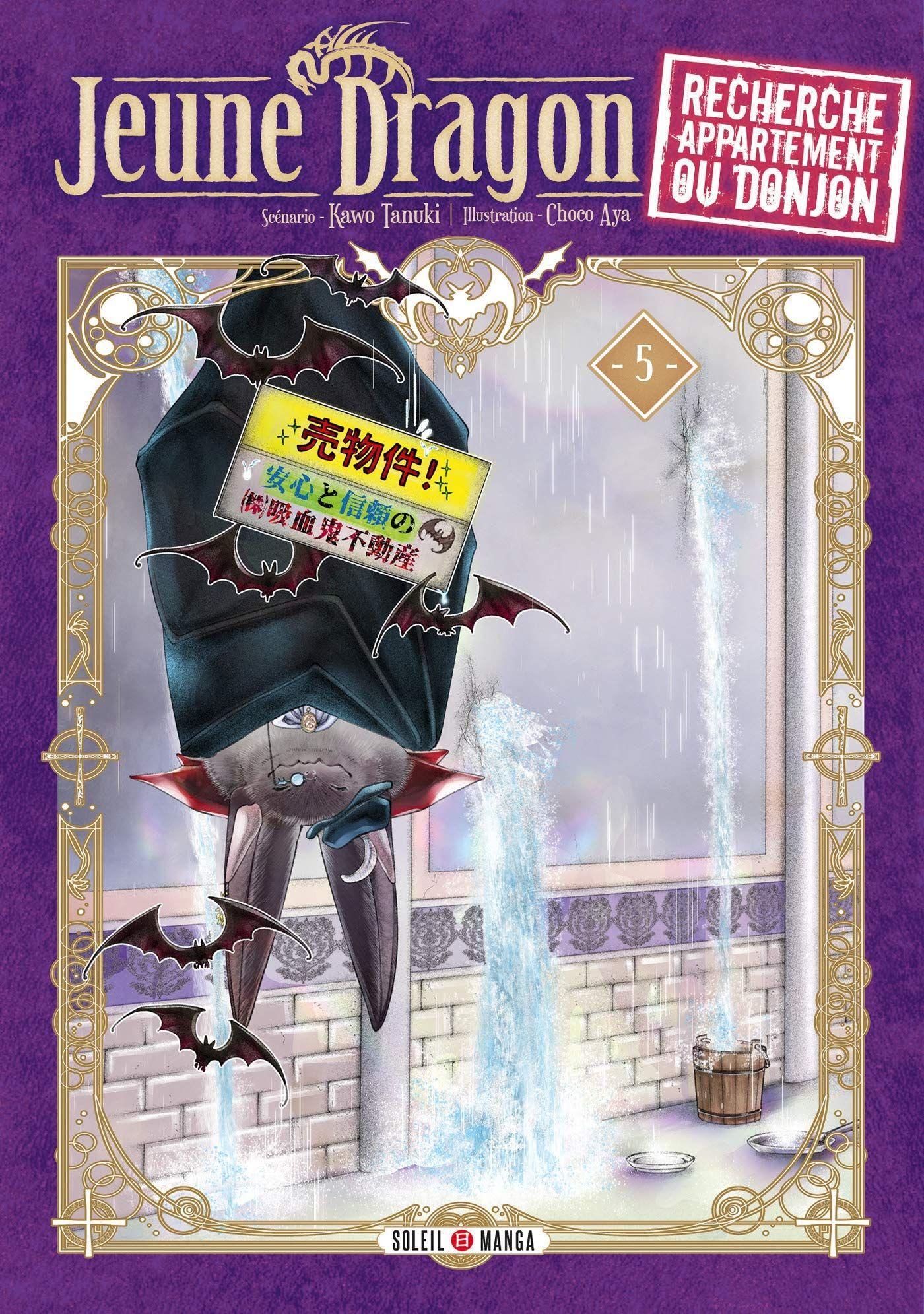 Sortie Manga au Québec JUIN 2021 Jeune-dragon-cherche-appartement-5-soleil