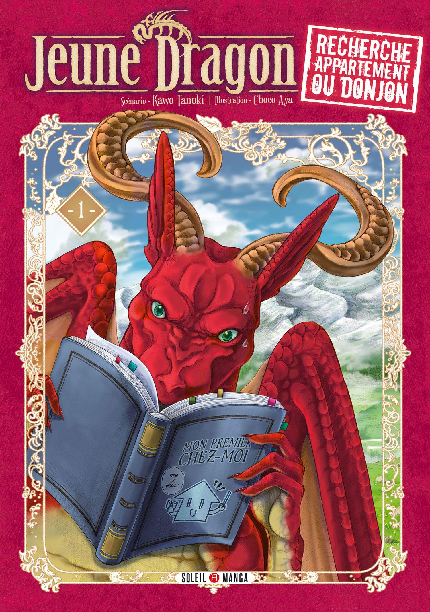Manga - Manhwa - Jeune dragon recherche appartement ou donjon Vol.1