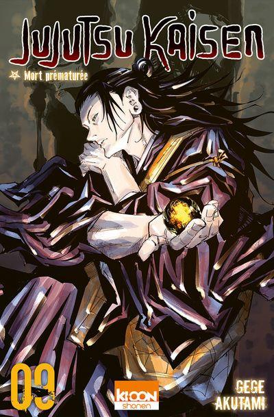 Sortie Manga au Québec JUILLET 2021 Jujutsu-kaisen-9-kioon