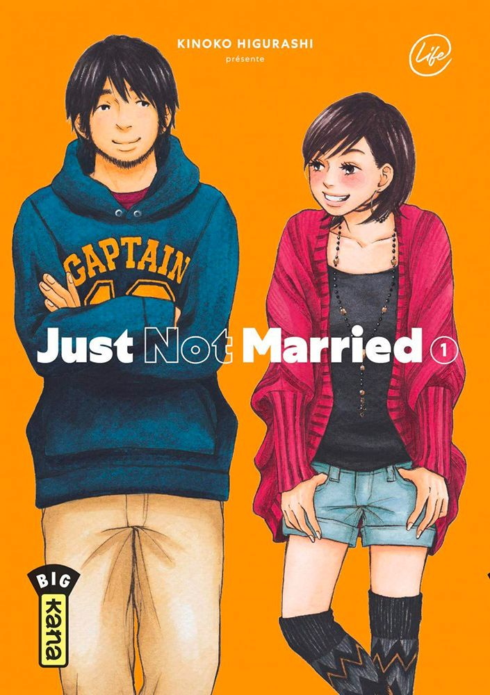 Just not married. 1