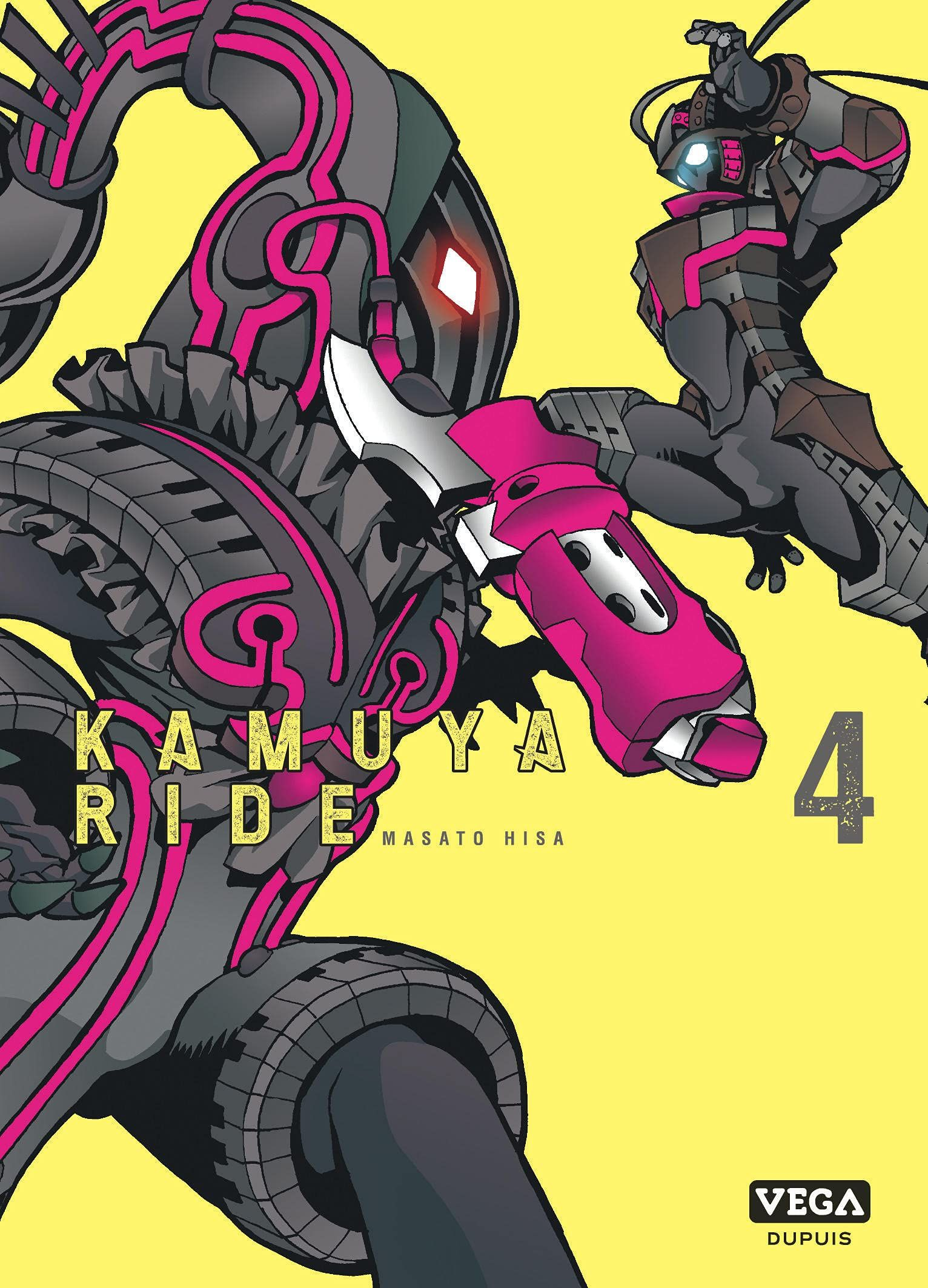Manga - Manhwa - Kamuya Ride Vol.4