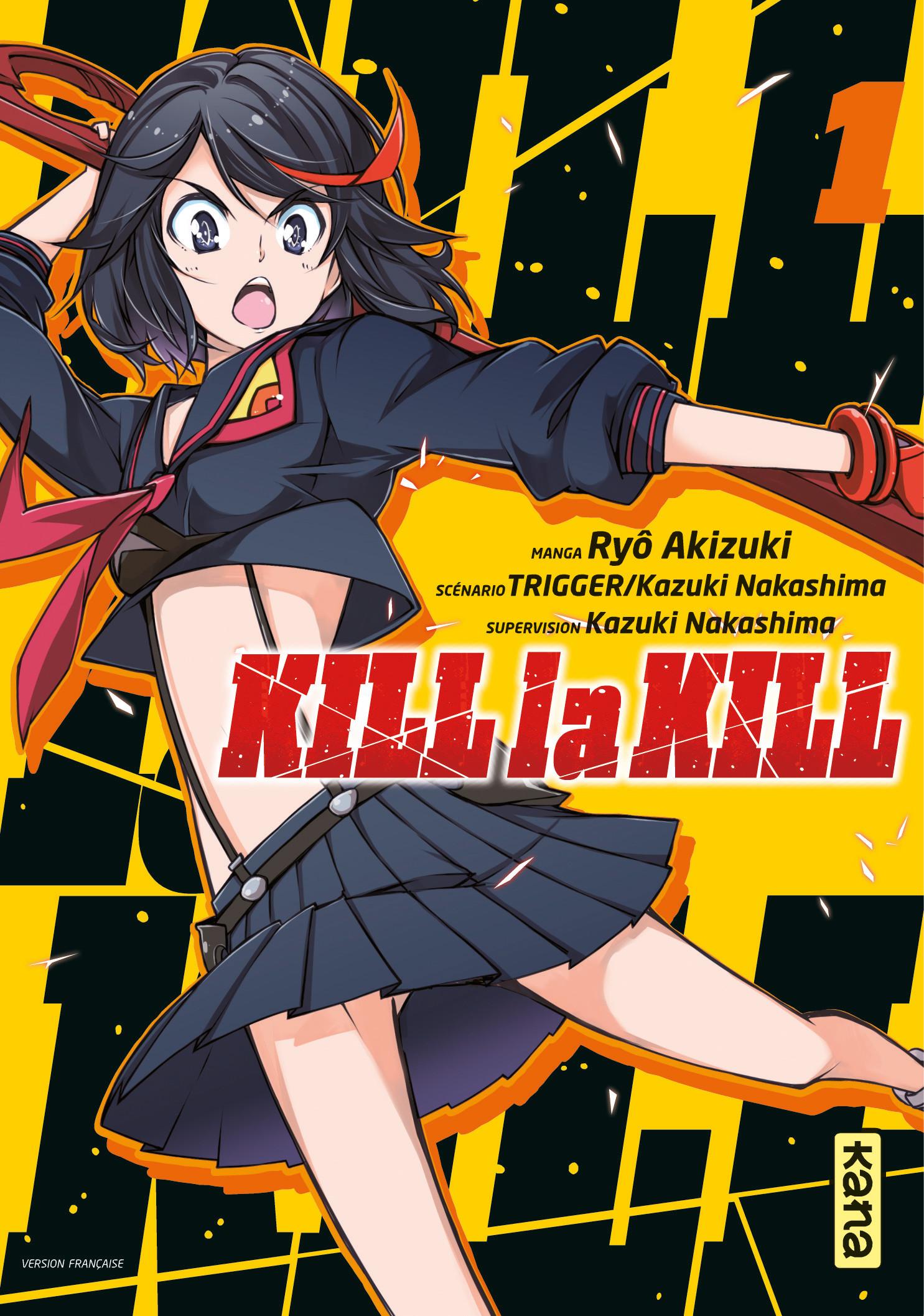 [ANIME/MANGA] Kill la Kill - Page 2 Kill-la-kill-vol1-kadokawa