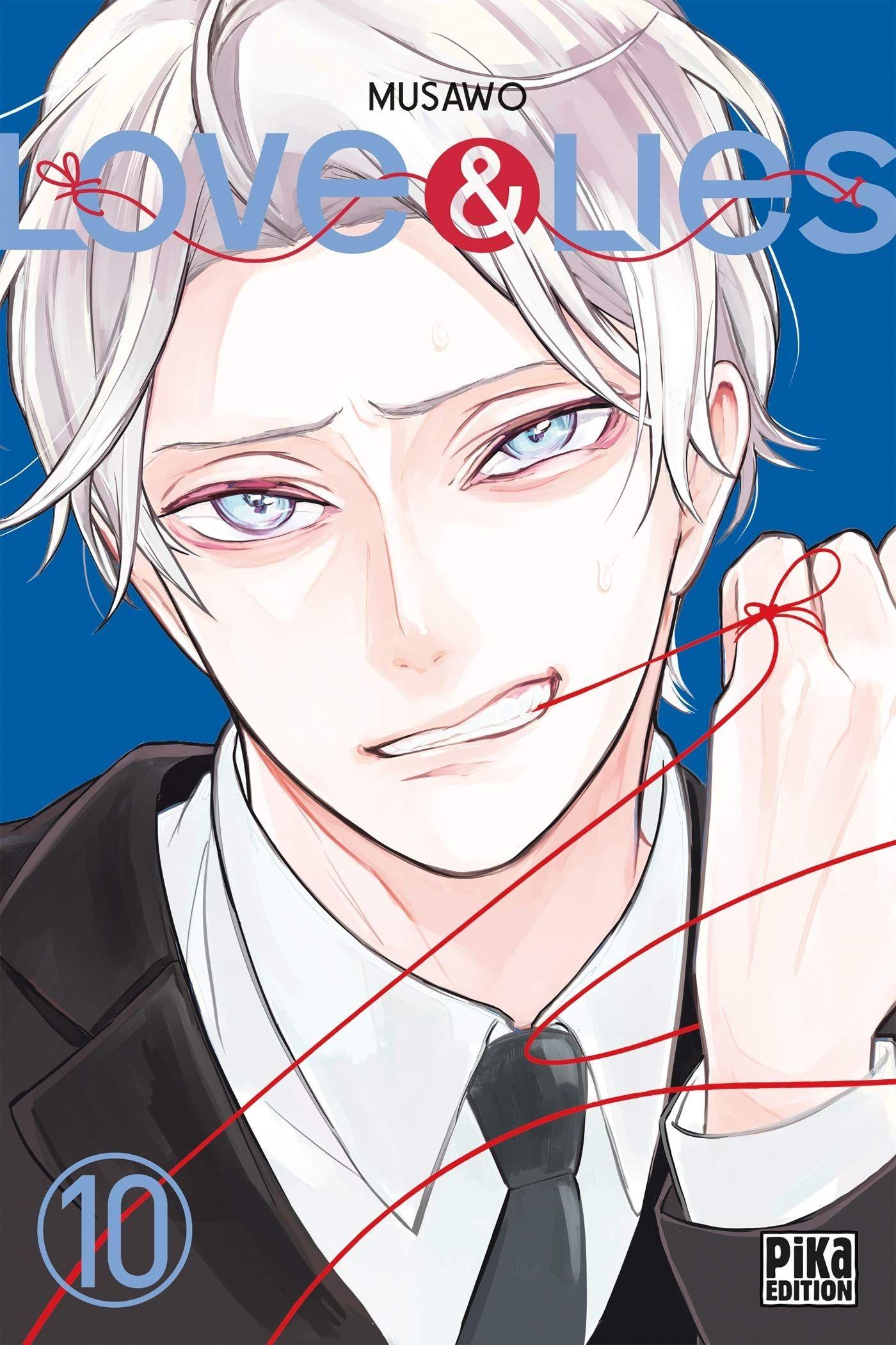 Sortie Manga au Québec JUILLET 2021 Love-lies-10-pika
