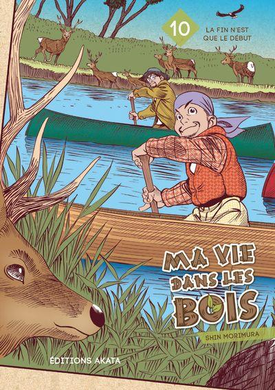 Sortie Manga au Québec JUILLET 2021 Ma-vie-dans-les-bois-10-akata