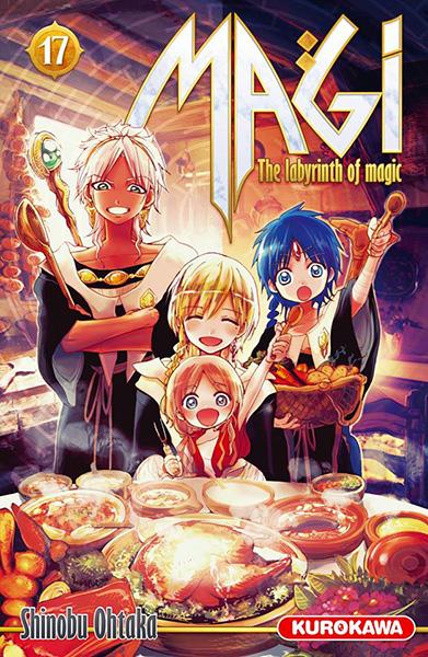 Magi - The Labyrinth of Magic Vol.17