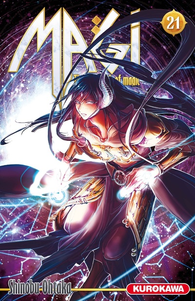 Magi - The Labyrinth of Magic Vol.21
