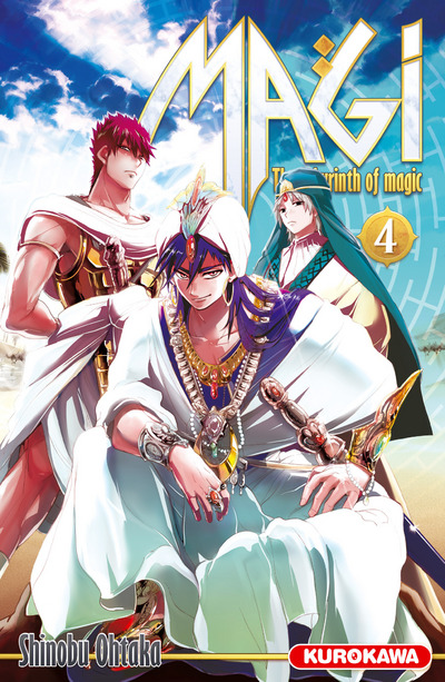 Magi - The Labyrinth of Magic Vol.4
