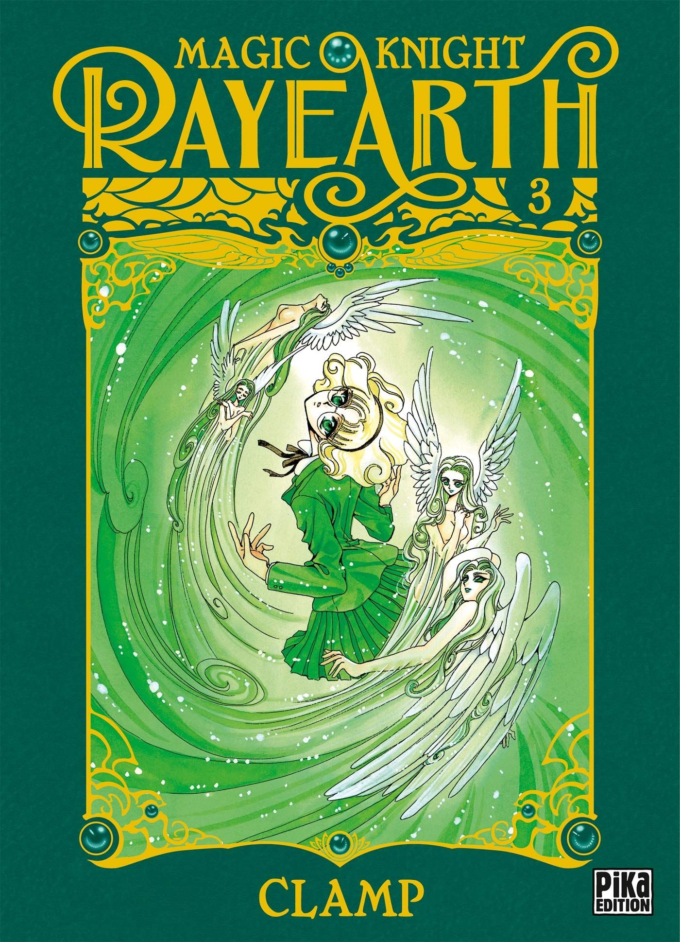 Sortie Manga au Québec JUIN 2021 Magic-knight-rayearth-20-ans-3-pika