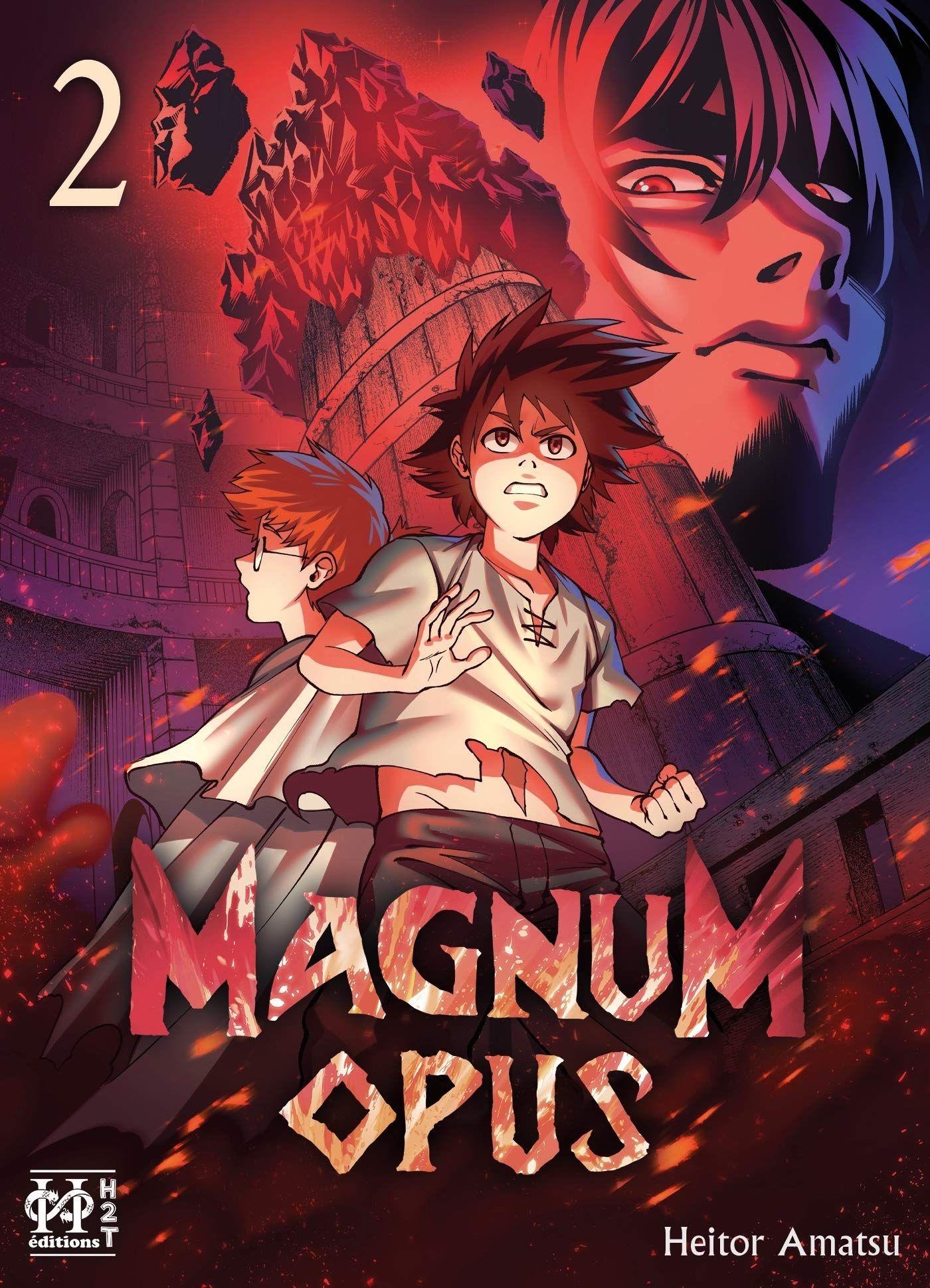 Sortie Manga au Québec MAI 2021 Magnum-opus-2-h2t