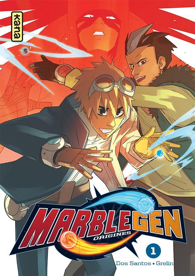 Manga - Manhwa - Marblegen - Origines Vol.1