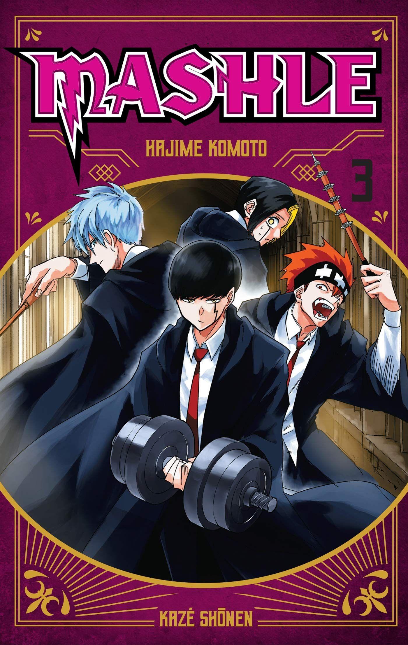 Manga - Manhwa - Mashle Vol.3